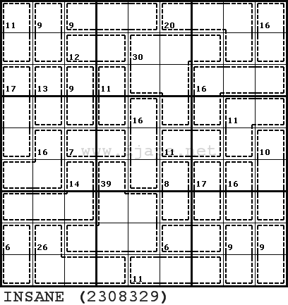 Killer Sudoku Online   Daily printable puzzles