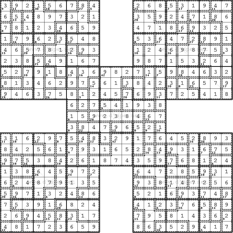 picture regarding Christmas Sudoku Printable referred to as Merry Xmas! :)