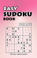 Easy Sudoku book