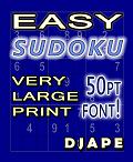 Easy Sudoku Very Large Print