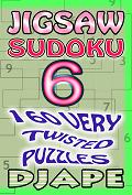 Jigsaw Sudoku book, volume 6