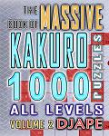Massive Book of Kakuro 1000 puzzles (Volume 2)