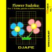 Flower Sudoku, Gattai 5 in 1 Su Doku