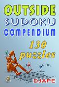 Outside Sudoku Compendium 130 puzzles
