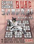 Super Sudoku Quad Samurai Puzzles