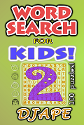 Word Searches for Kids book, volume 2